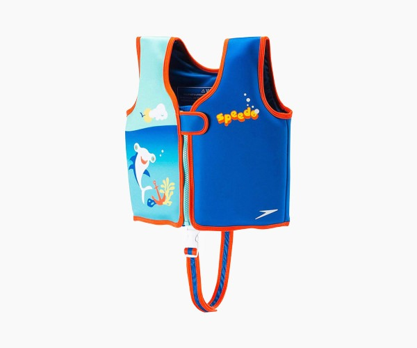 1. Speedo Kids UPF 50+ begin to swim classic vest suit