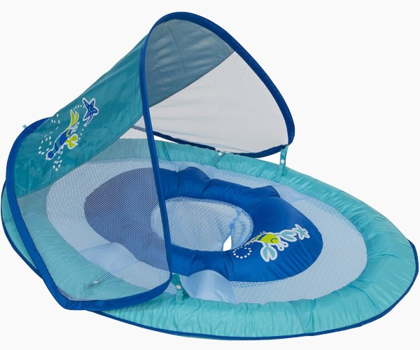 10. SwimWays Baby Spring Float + Canopy
