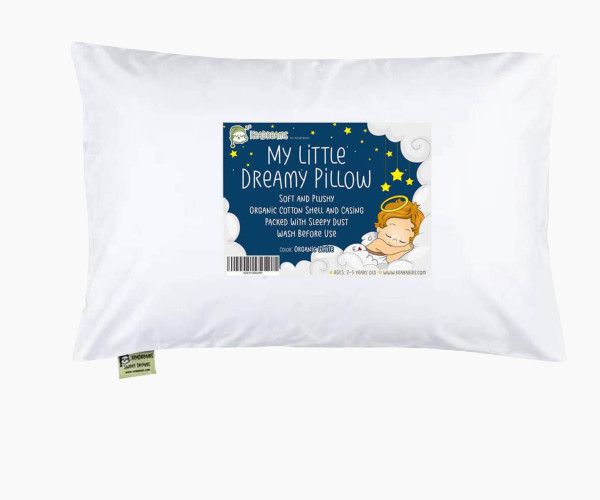 10. KeaBabies Toddler Pillow With Pillowcase