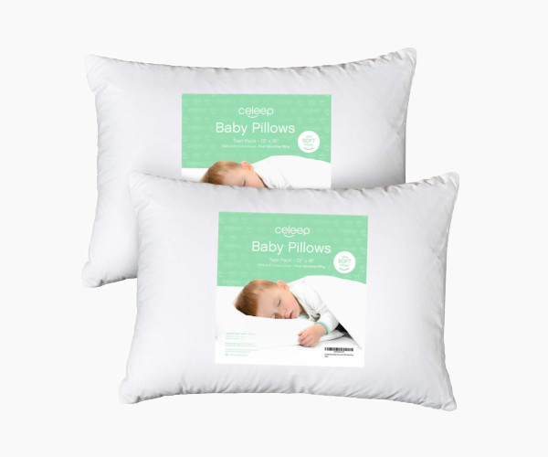 11. [2-Pack] Celeep Baby Toddler Pillow Set
