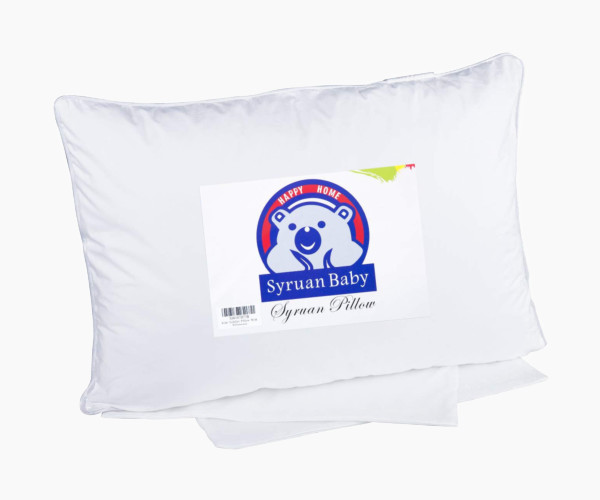 12. Syruan Toddler Pillow with Pillowcase