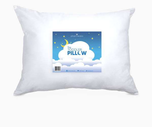 13. PharMeDoc Toddler Pillow for Kids