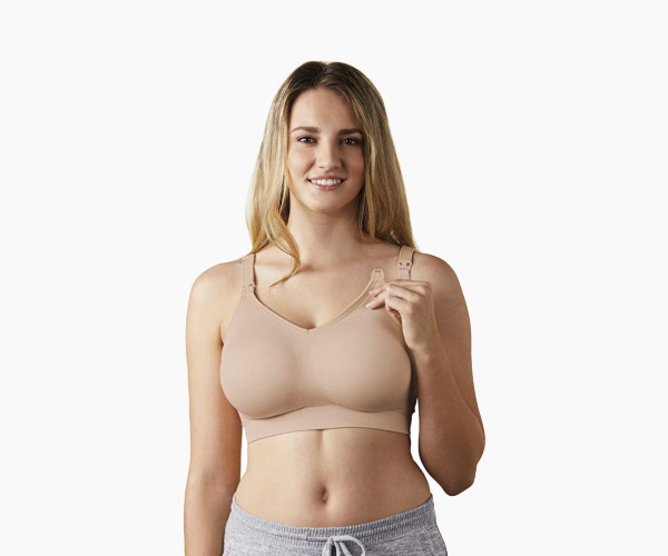 13. BRAVADO! DESIGNS - Women's Body Silk Seamless Nursing Bra