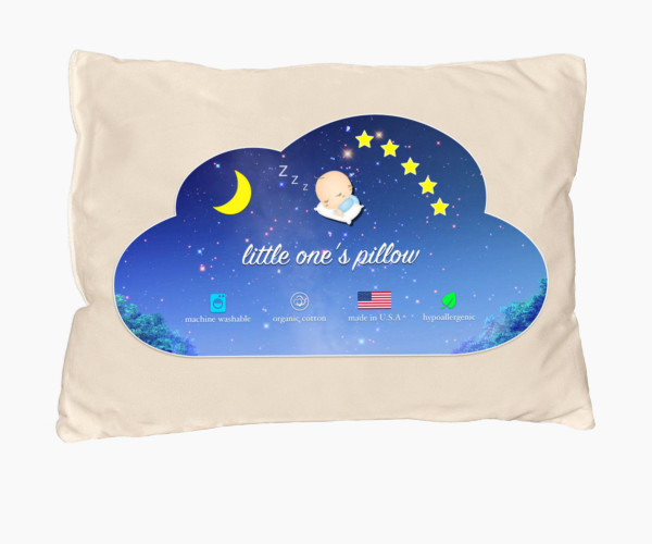 2. Little One's Pillow - Toddler Pillow