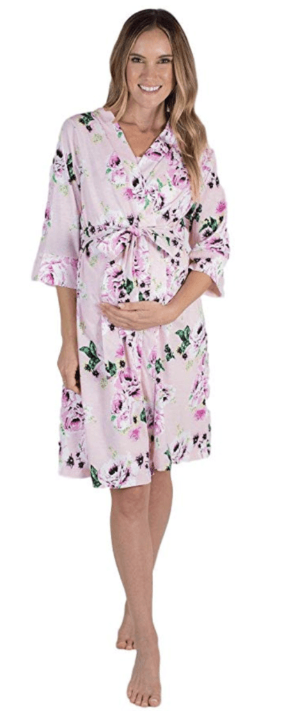 2. BABY BE MINE MATERNITY ROBE