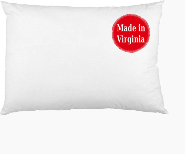 4. Little Pillow Company Toddler Pillow