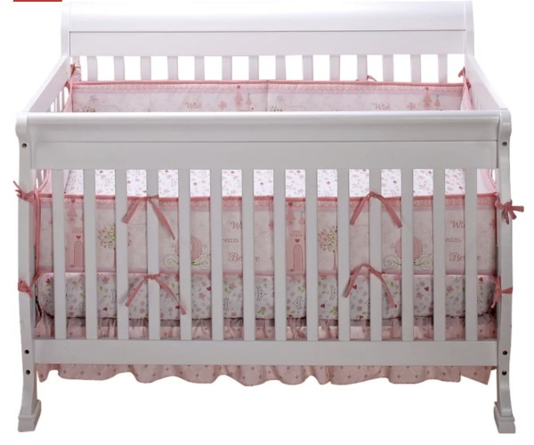 7. Disney Happily Ever After Crib Set