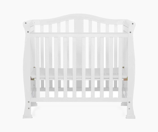 Dream On Me Addison 4 in 1 Convertible Mini Crib
