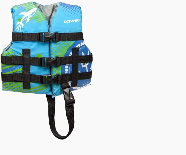 6.  Oceans 7 US Coast Guard Approved. Child Life Jacket