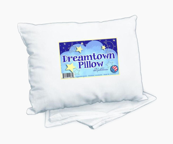 6. Dreamtown Kids Toddler Pillow