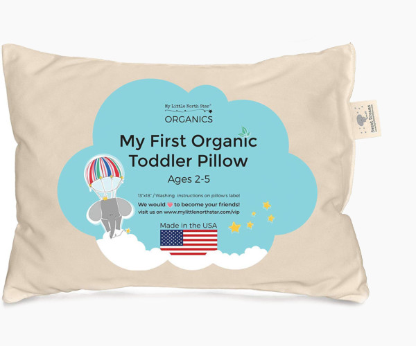7. My Little North Star Toddler Pillow