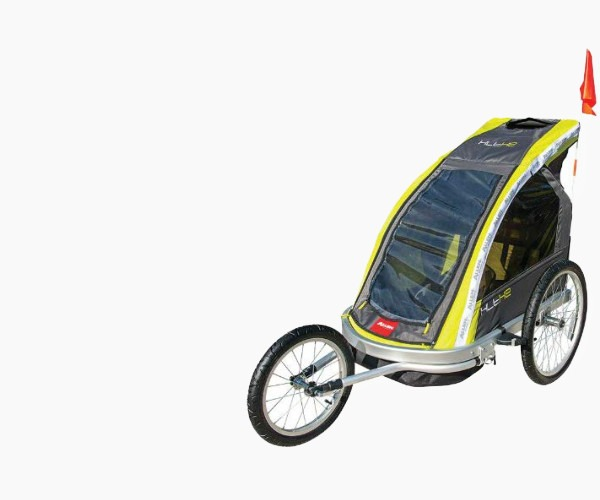 Premier 2-Child Aluminum Bike Trailer/Racing Stroller by Allen Sports