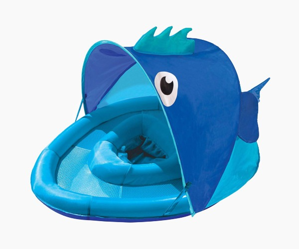 8. SwimSchool Fun Fish Baby Float