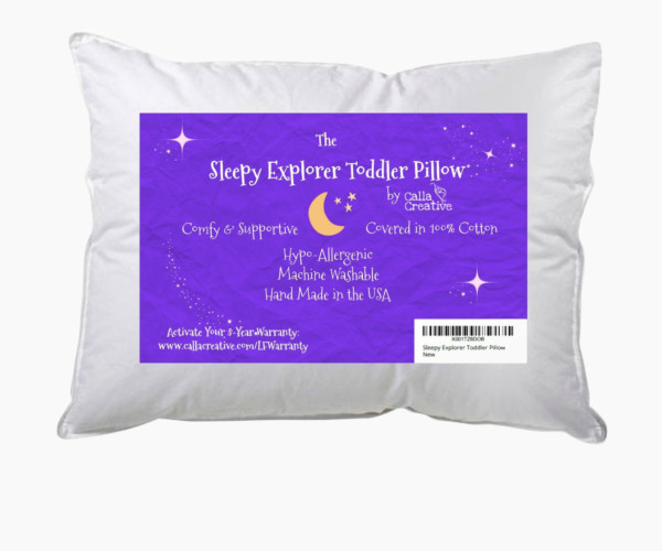 8. Calla Toddler Pillow