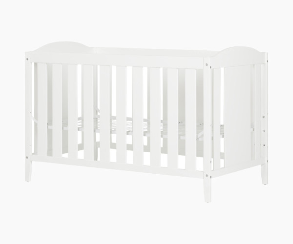 2. South Shore Angel Crib with Toddler Rail
